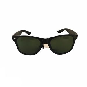 Trend by FGX Black Wayfarer Sunglasses NWT
